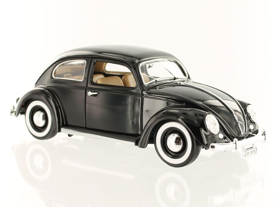 Volkswagen Kever Beetle 1955 Black By Bburago In 1 18